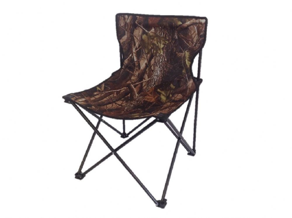 folding chair uk orange acrylic chairs camo realtree portable foidaway fishing shooting seat camping new